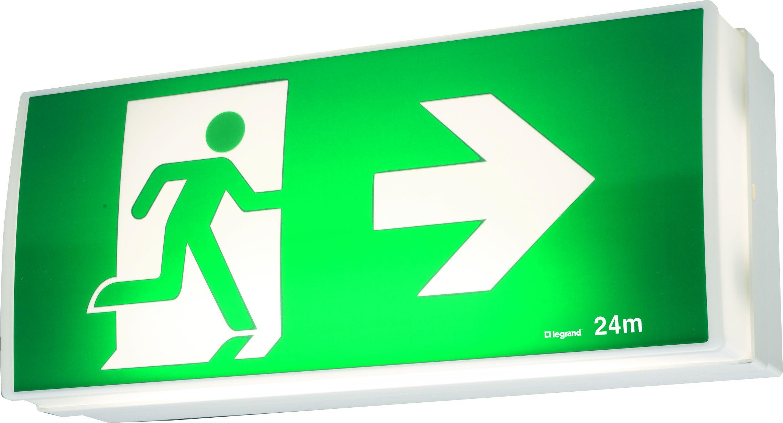 er2 economy led exit sign cat no